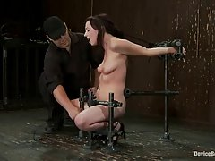 Kinky babe, Lindy Lane likes her neighbor's basement because she is always getting dominated there