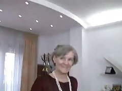 Sweet blonde is having fun with kinky grannies from her neighborhood and enjoying it a lot