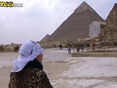 Fresh couple went to their first vacation, to Egypt and had a lot of fun
