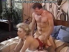 Busty, blonde milf is having sex adventures with all guys she likes, just for fun