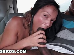 Big ass Colombian woman likes to have casual sex quite often and earn some easy cash
