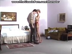 Horny woman is getting fucked by a guy with a huge dick, just like she wanted