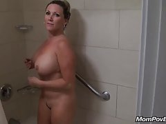 Mature milf was eager to have sex with a handsome stranger, during her short vacation