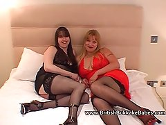 British girls are doing it in various places and situations, because it excites them a lot