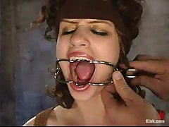 Beautiful girl asked her kinky neighbor to play with her the way he likes the most