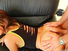 Vicki Chase told to her boyfriend that she likes anal sex and got it right away