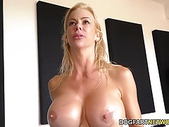 It's time for some cuckold fun, Alexis Fawx gets fucked by some well hung black men with pleasure