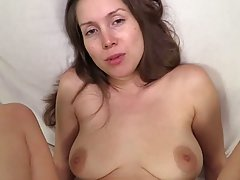 Absolutely marvelous brunette bitch is up for some POV fun, her man knows how to please