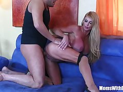 Cock hungry blondie named Taylor Wane is here for some mean fucking, she just loves nasty fun!