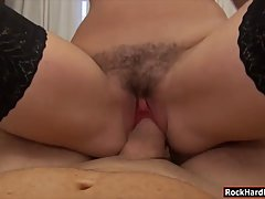 Teen brunette, Ava Dalush spread her legs wide open and got what she desperately needed