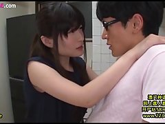 Asian brunette likes to gently suck dick and to get her pussy licked thoroughly, in return