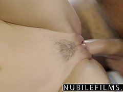 Gorgeous lady, in high heels, Kimmy Granger is getting fucked in the pussy, on the couch