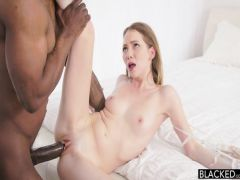 The Black presented to the white girlfriend couple of orgasms for a meeting