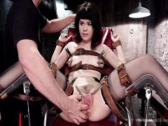 The guy with the friend fucks the nice girlfriend brunette in BDSM