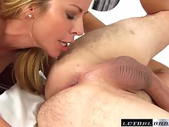Big titted blonde woman, Alexis knows how to keep her lover satisfied like no other woman