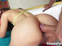 Mick Blue is often fucking various hot babes because he likes their tight, wet holes