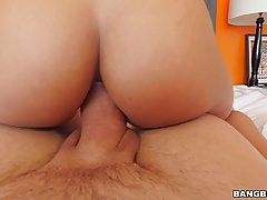 Luna Star got fucked in the ass, because she wanted to experience it very much