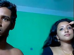 Indian couple decided to have sex in front of the web camera, just for fun
