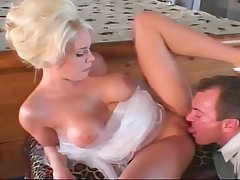 Voluptuous blonde milf likes to get her pussy licked and then to get fucked until she cums