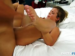Busty babe, Keisha Grey wanted to have some fun, so she made a sex tape